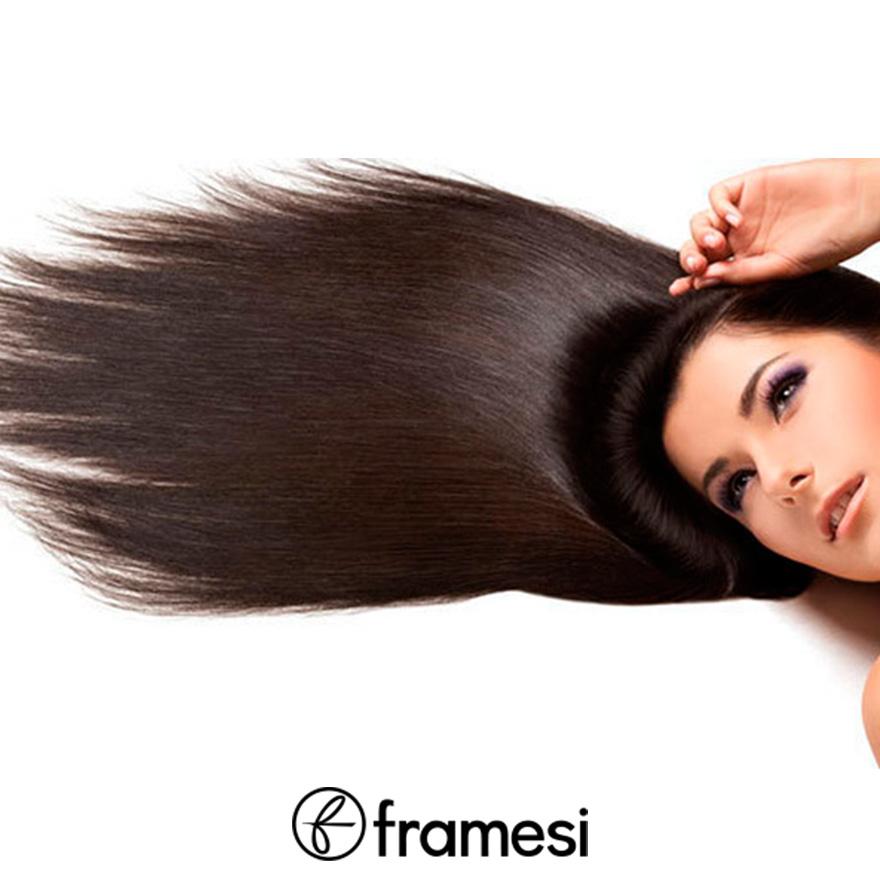 framesi tartós hajkiegyenesítés - keratinos szerkezetépítés