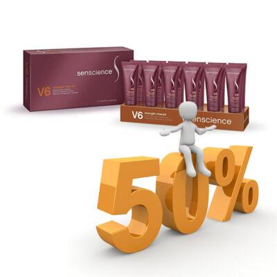 Senscience V6 Intenzív Erősítő, tartást adó kezelés