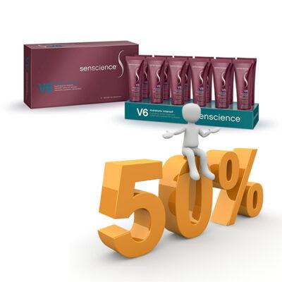 Senscience V6 Intenzív Hidratáló, puhító, simító kezelés